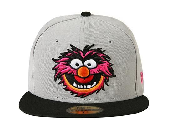 THE MUPPETS x NEW ERA「Animal」59Fifty Fitted Baseball Cap  b32792aea81
