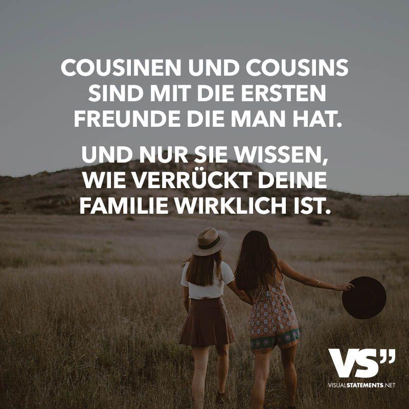 Cousinen und Cousins sind mit die ersten Freunde die man
