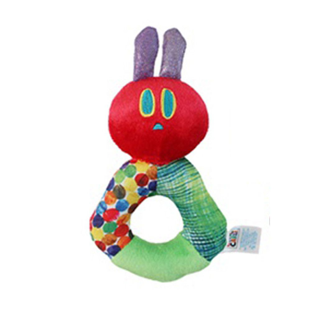 The Very Hungry Caterpillar Ring Rattle The World of Eric Carle