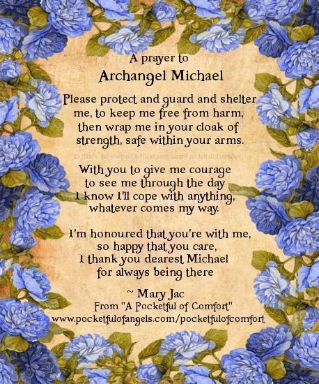 Archangel Michael Prayer - asking for Protection - Strength