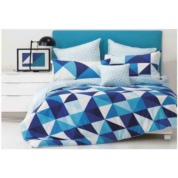 Discounted Bianca Cruze Quilt Cover Set ❤ liked on Polyvore ... : discounted quilts - Adamdwight.com