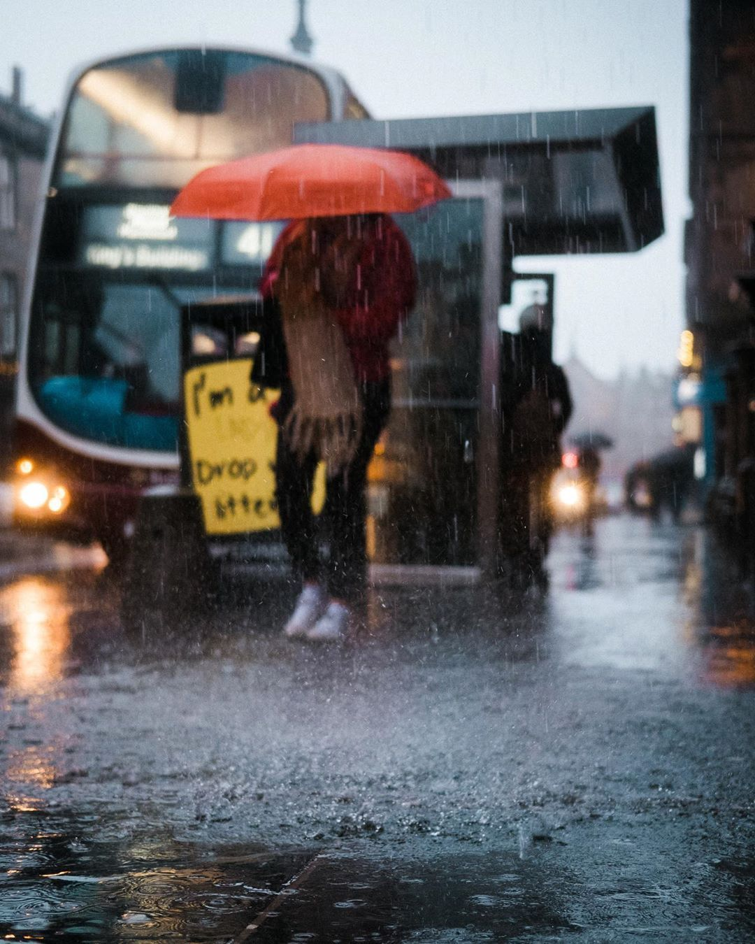 "Pete | Edinburgh | Scotland shared a photo on Instagram: ""It never rains, but it pours . . . #life_is_street #igersedinburgh #myspc #fujifilm_uk #ihsp…"" • See 1,477 photos and videos on their profile."