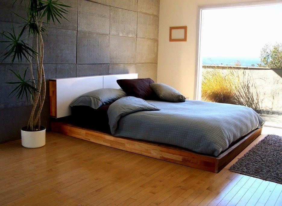 Modern Biggest Mattress Size Decoration Platform bed
