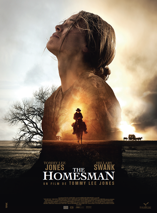The Homesman Poster By Julien Lemoine Via Behance Moving Movie French Movie Posters Tommy Lee