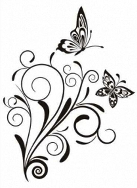 butterflies pyrography patterns pinterest ideen f r das zeichnen ged chtnis und silhouetten. Black Bedroom Furniture Sets. Home Design Ideas