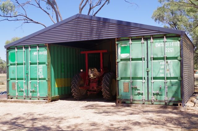 You Can Build A Shed Using Shipping Containers 20 Or 40 Foot To Suit Your  Requirements In Your Backyard Or Where Ever It Is Required.