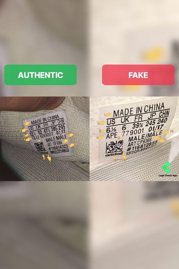 Fake Vs Real Yeezy Boost 350 V2 Cream