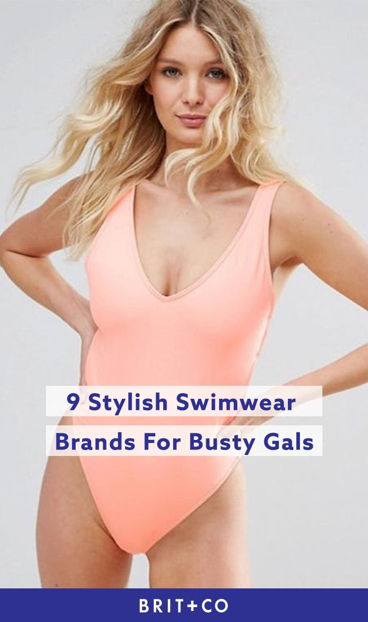 dbbefcf459 Feel great in your summer swimsuit with these 9 ah-mazing busty swimwear  brands.