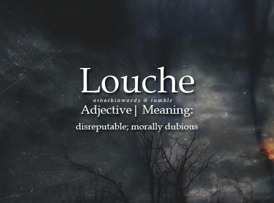 Define Disreputable