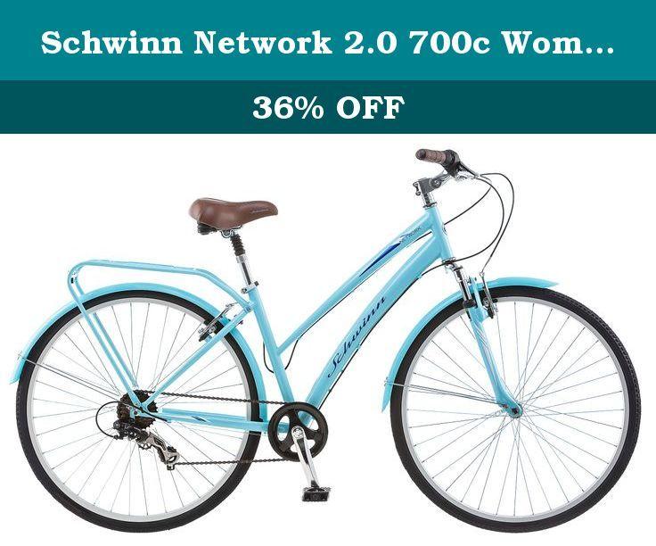 Schwinn Network 2 0 700c Women S 16 Hybrid Bike 16 Inch Small