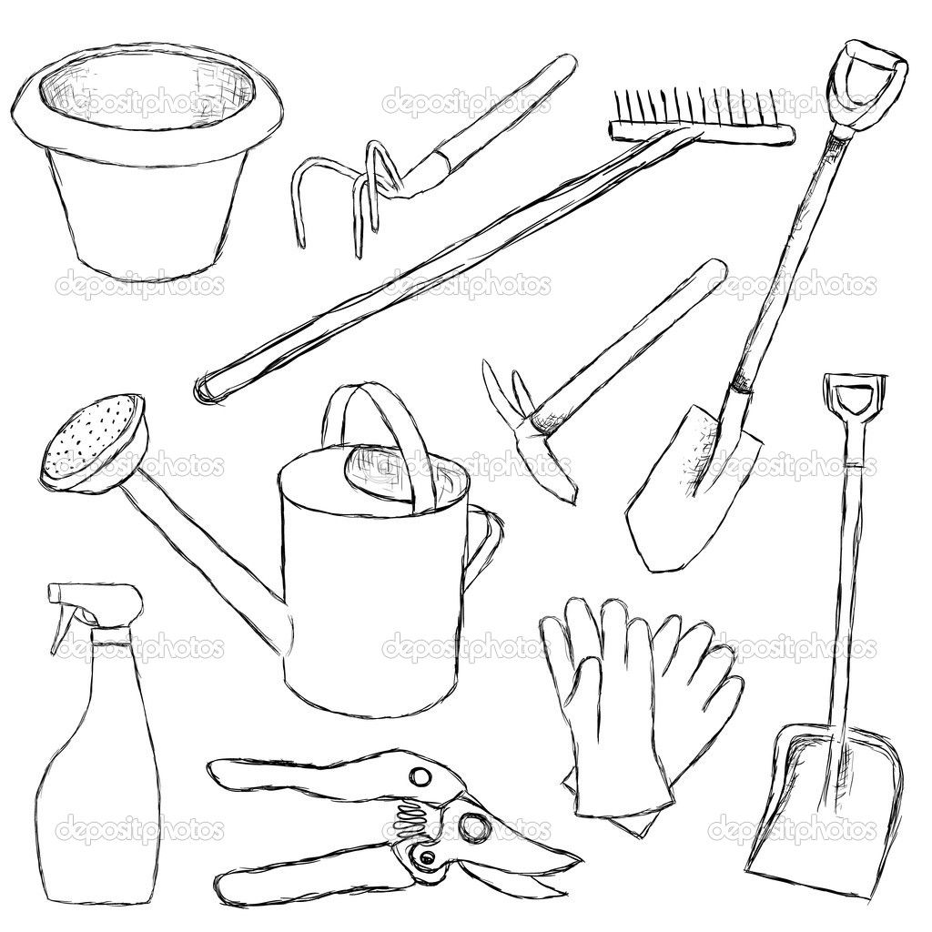 Kitchen Tools Drawings Garden Tool Belt ** Click On The Image For Additional Details
