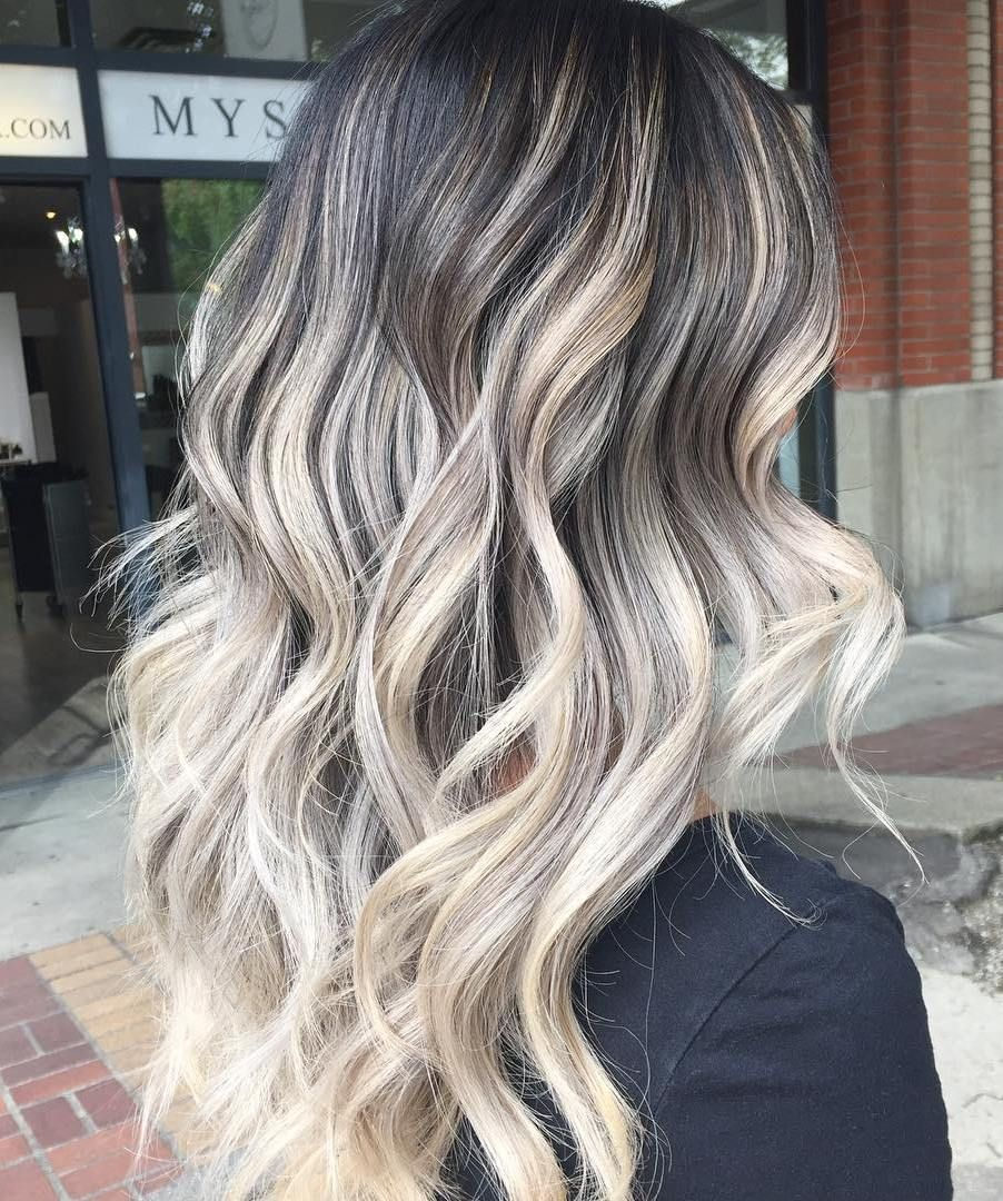 Best balayage hair color ideas flattering styles for ash