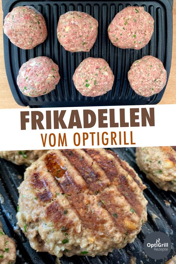 OptiGrill Rezept: Frikadellen grillen