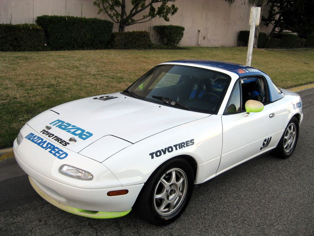 Miata Track Car   1991 Mazda Miata Spec Track Car - SOLD [1991 Mazda ...