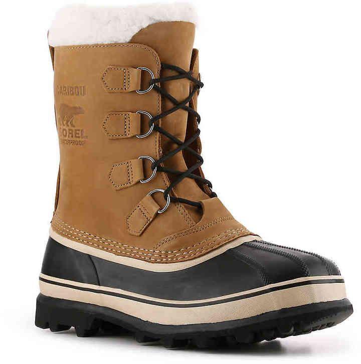 Men Caribou Snow Boot TanBrownBlack | Products | Mens