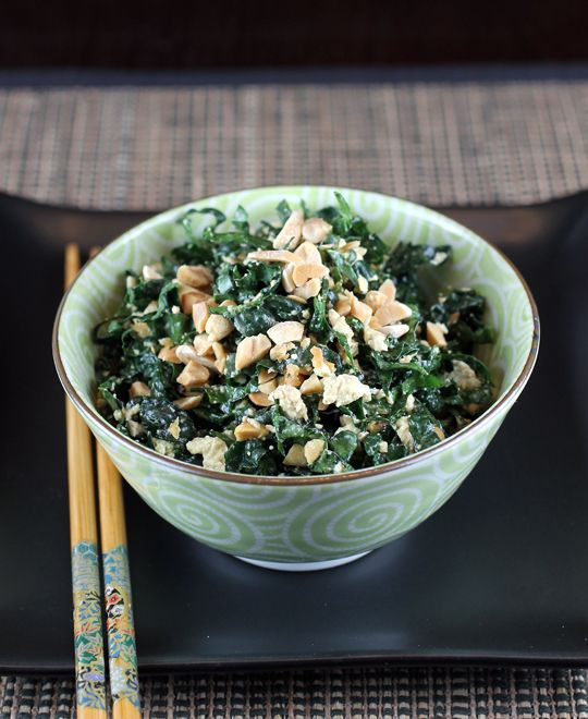 A kale-tofu salad that you will sing the praises for all new year long.