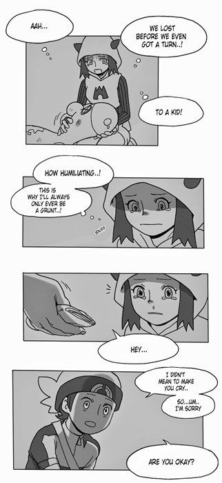 Dating A Team Magma Grunt Comics