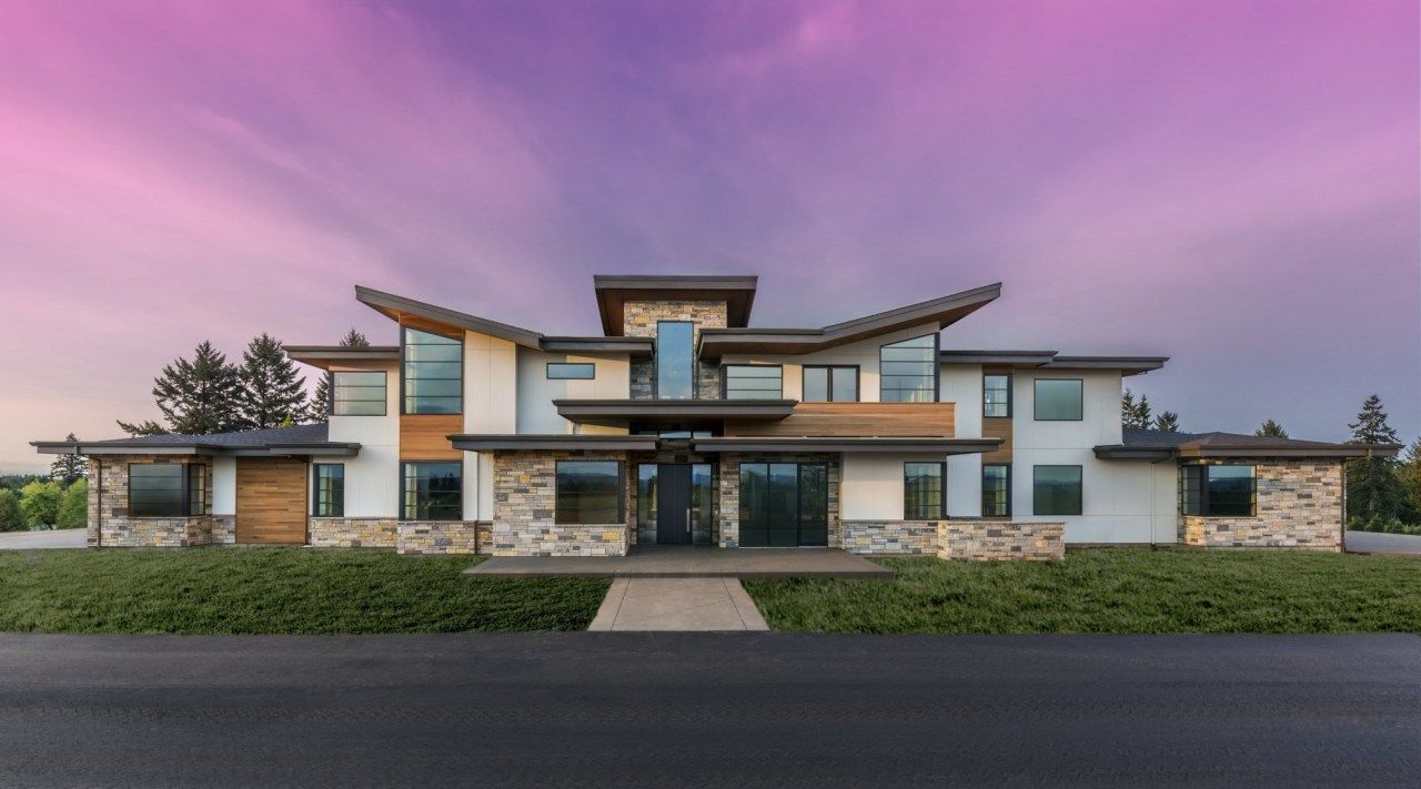 Jenni Moderna From Extreme Makeover Home Edition Guest Designer Mark Stewart In Sherwood Contemporary House Plans Modern House Plans Mountain House Plans