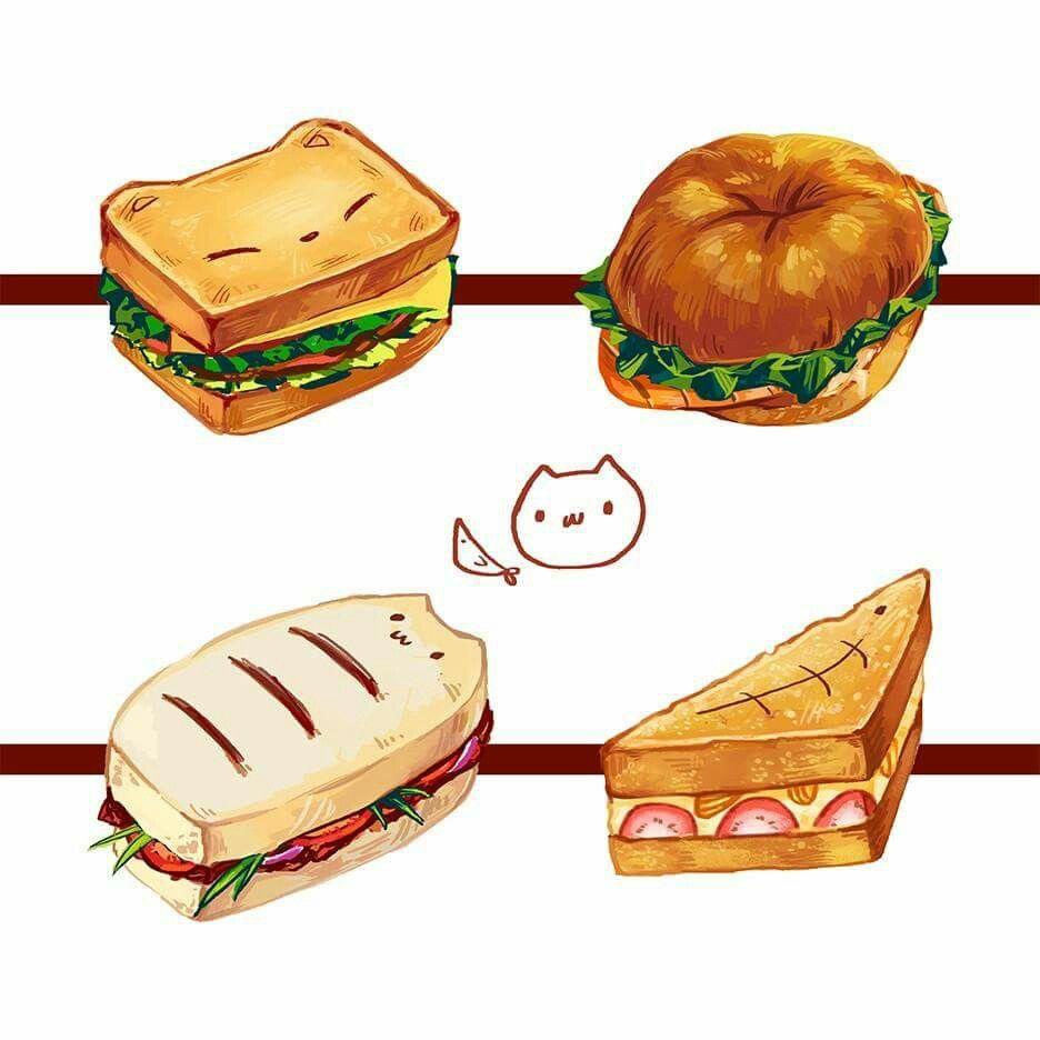 Pin Uzivatele Artistkj Na Nastence Anime Food Pinterest