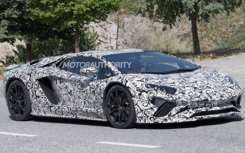 Lamborghini Aventador 2018 Price Release Date Engine Spy Shots