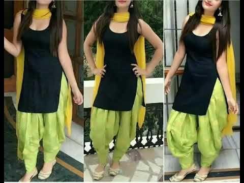 d681784d2 Indian Designer Black Punjabi Patiala Salwar Kameez Suit|| Latest Sexy  black PatiaLa Suit ideas - YouTube