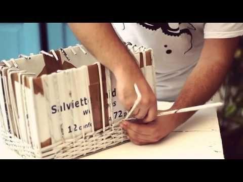 Episode #1 Craftare continua a dimostrare come è possibile realizzare con materiali di scarto un oggetto utile trasformandolo in qualcosa di nuovo. Seguiteci su: - http://craftare.tumblr.com/ - https://www.facebook.com/craftare?fre...  Riprese e montaggio di Fabio Ginestra https://vimeo.com/fabiog Musiche di http://podingtonbear.com/