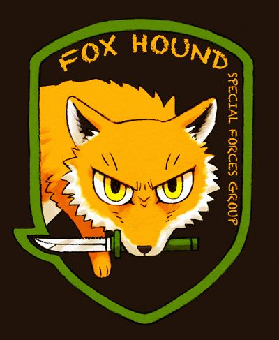Awww Cute Little Foxhound The Fox And The Hound Metal Gear Metal Gear Series