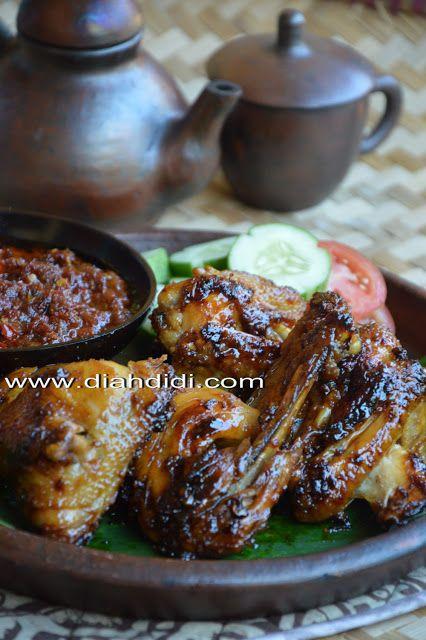 Diah Didi S Kitchen Ayam Bakar Bumbu Bacem Khas Yogya Yummy Resep Ayam Resep Masakan