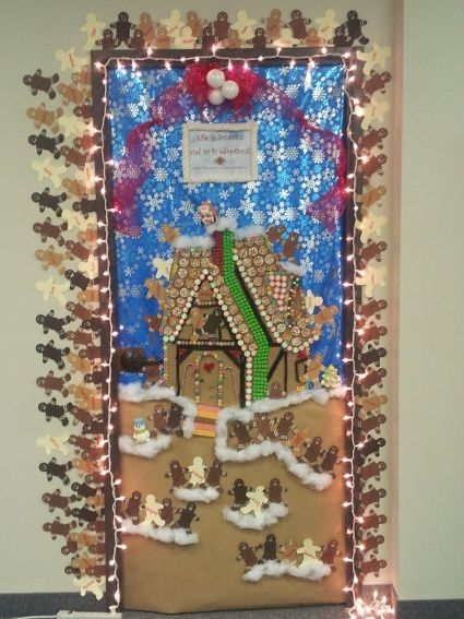 Our Adoption Department teamed up for this Gingerbread ...
