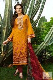 Kessi Fashion #Maroon #Gold Cotton Salwar Kameez #wholesalesalwarsuit, #wholesalesalwarkameez, #wholesaledresses, #wholesalecottonsalwarsuits, #wholesaledressmaterial, #wholesalecasualdresses Visit for more : http://www.pavitraa.in/wholesale-catalog/?utm_source=mk&utm_medium=pinterestpost&utm_campaign=12Jan Any Query :  Call / WhatsApp : +91-76982-34040