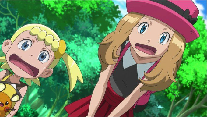 pokemon ash and serena favourites by magic135 on DeviantArt