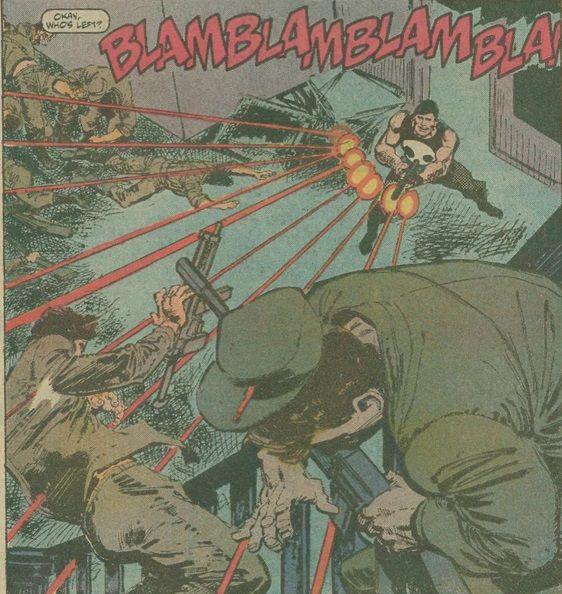 Punisher #1-2 : SuperMegaMonkey : chronocomic