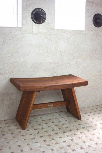 The Original 30 Asia Teak Shower Bench Teak Shower Stool Bathroom Bench Bath Bench