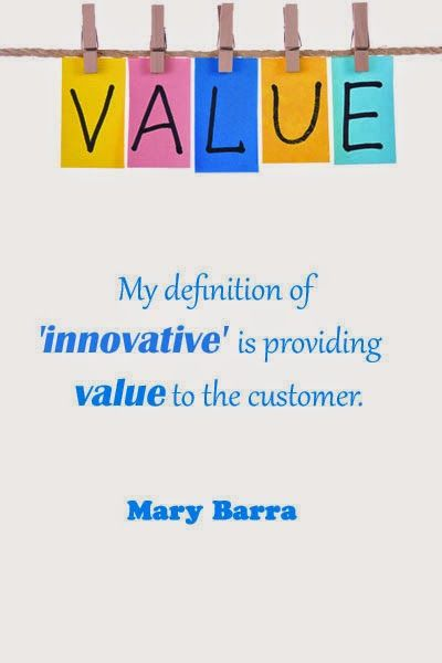 The Definition Of Innovation Is Providing Value Quote
