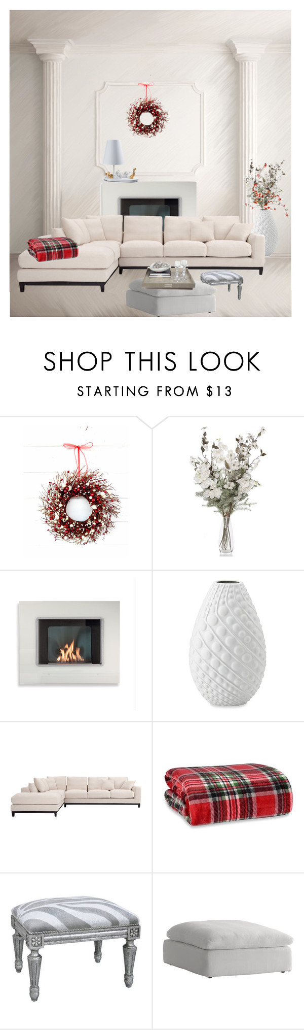 """""""In White"""" by marijana71 ❤ liked on Polyvore featuring interior, interiors, interior design, home, home decor, interior decorating, Bombay, Berkshire, Oly and Andrew Martin"""