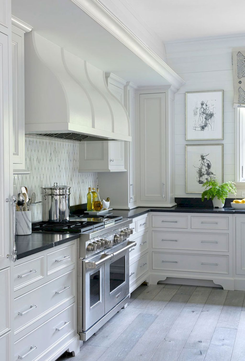 White Kitchen Cabinets Decor Ideas (67) | Kitchen Decor Ideas ...