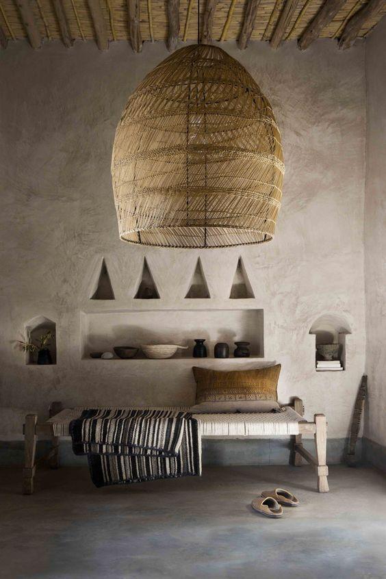 7 Inspirations For A Wabi Sabi Interior Deco Ethnique Decoration Ethnique Couleur Locale