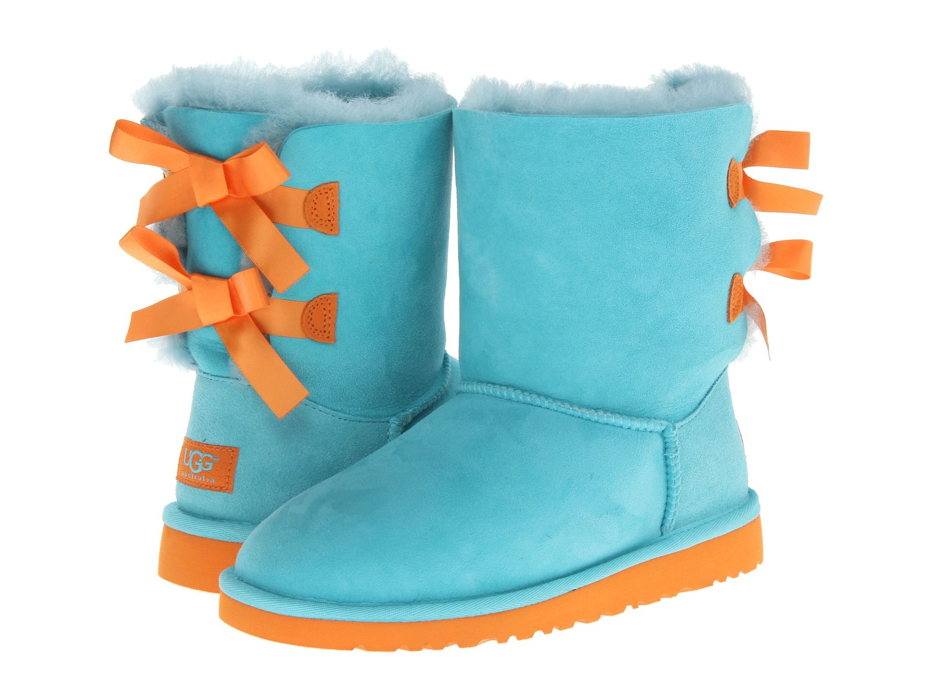 blue and orange uggs