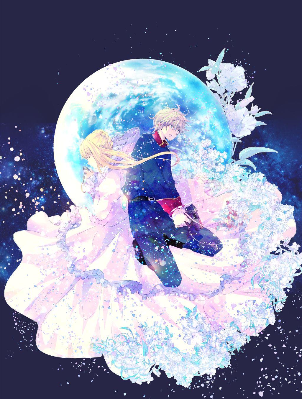 Aldnoah.Zero | Asseylum Vers Allusia x Slaine Troyard | OTP | Anime | Fanart | SailorMeowMeow