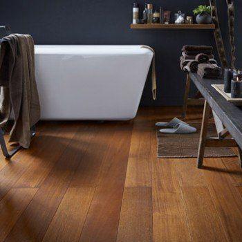 Parquet Massif Merbau Brun Rouge Huile L Bathroom Design Layout Flooring Hardwood Floors
