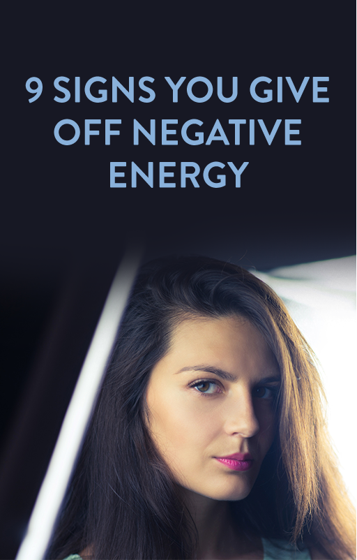 How to give off good energy