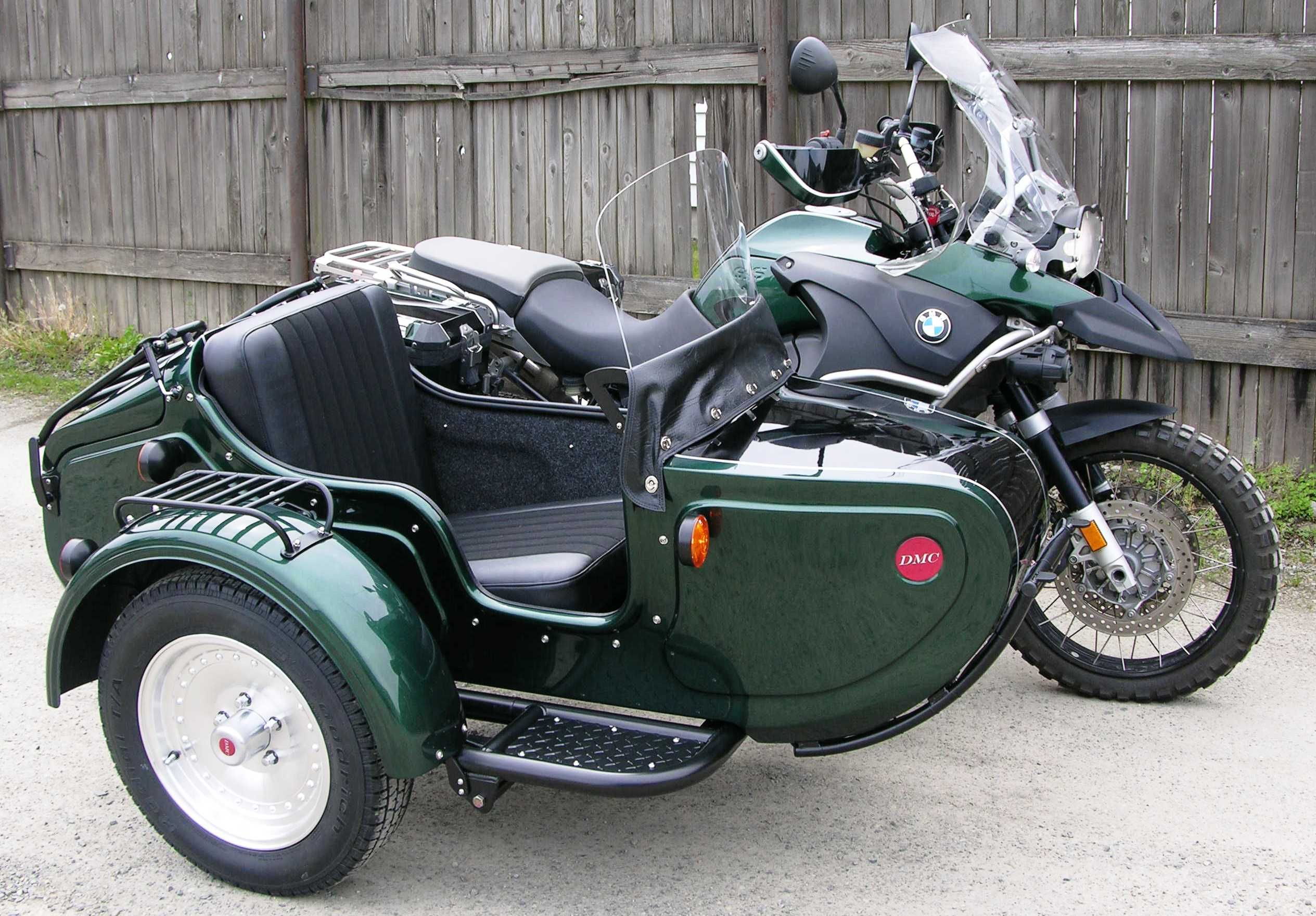 R1200GSA with Expedition Sidecar, color matched paint + all