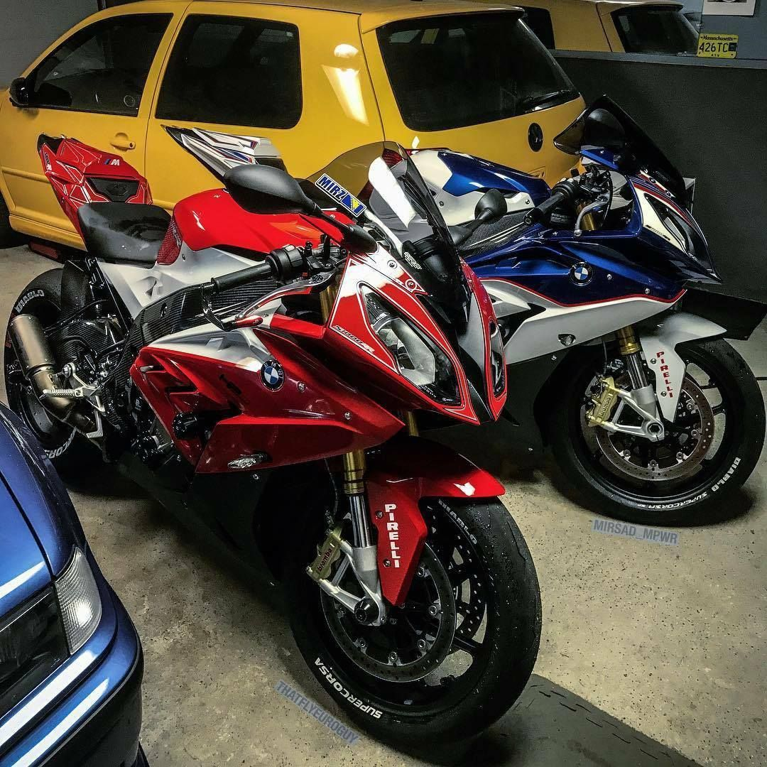 red and blue bmw s1000rr 2018 <3 | bmw s 1000 rr | pinterest