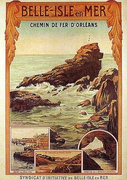 Chemin de fer d'Orléans par F. Serreau (1900).....Reépinglé par  Maurie Daboux ⊰✿