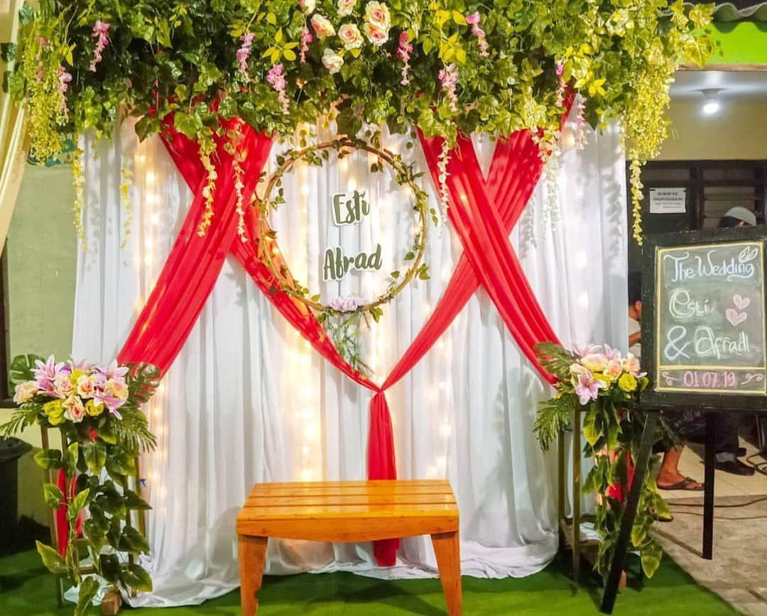 Dekorasi Pergola Pernikahan