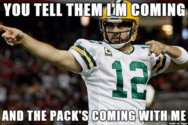 Brett Favre Funny Quotes: The Pack + Tombstone Quote? Oh Hell Yes!