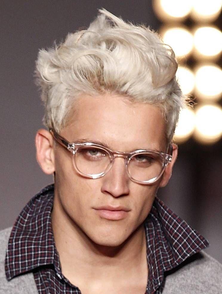 Photo Of White Hair Yahoo Search Results Short Bleached Hair Platinum Blonde Hair Men Men Blonde Hair