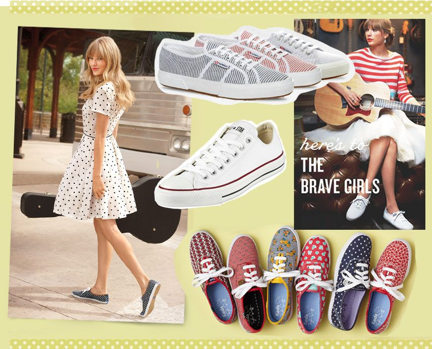 34257c7ee17 15 Adorably Retro Day Dresses you ll want to Wear all Summer Long… with  Sneakers