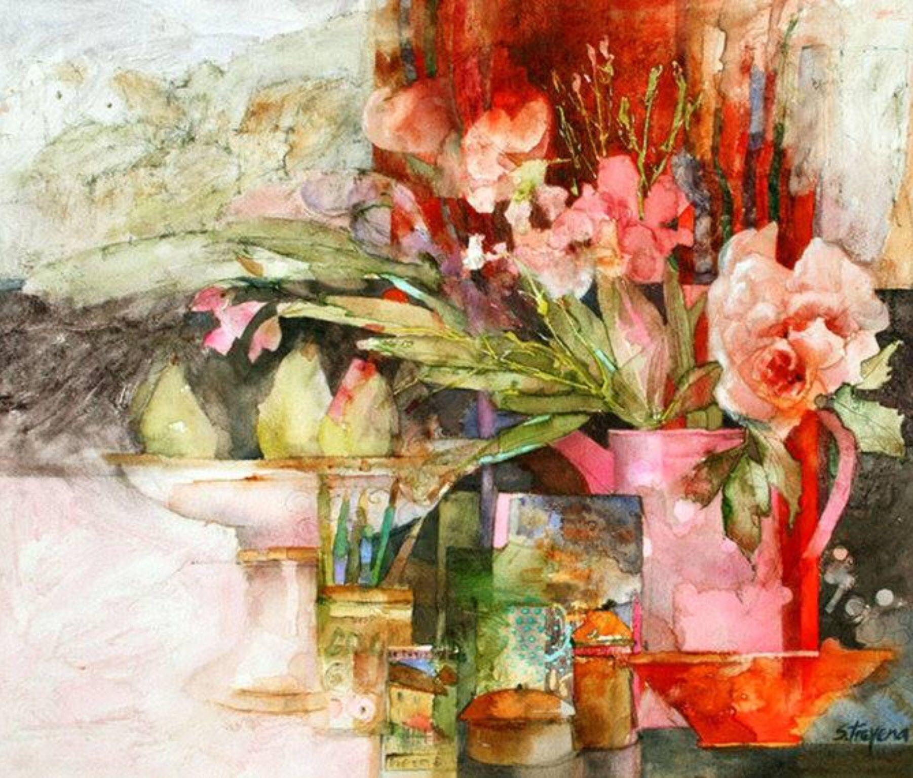 226 Shirley Trevena Anglaise Contemporaine De L Art Et C Est