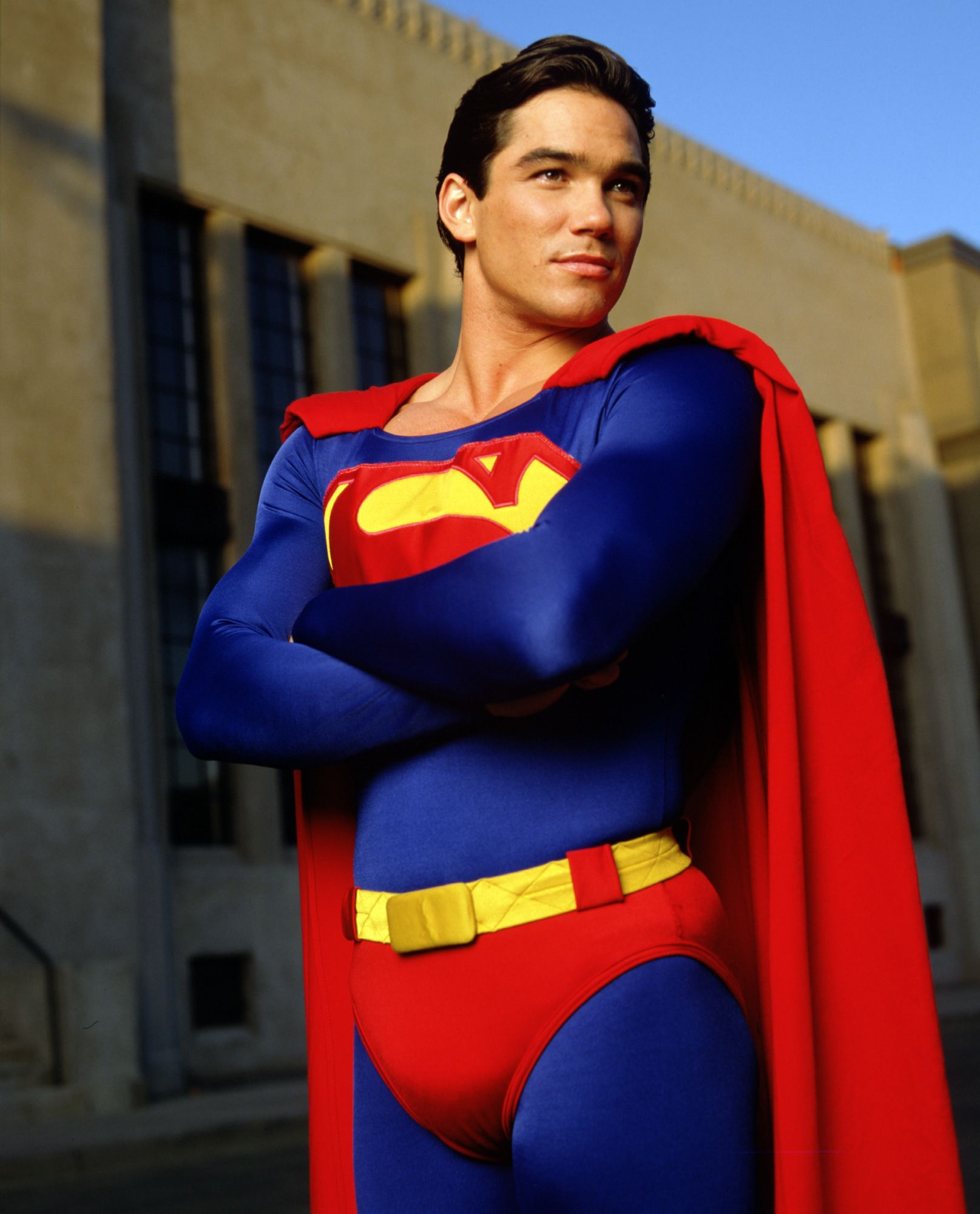 Dean cain superman clark kent in lois clark the new for Kent superman
